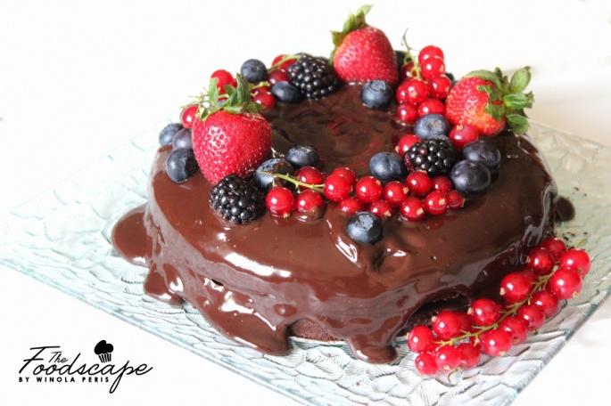 Perfect Egg-less Chocolate Cake