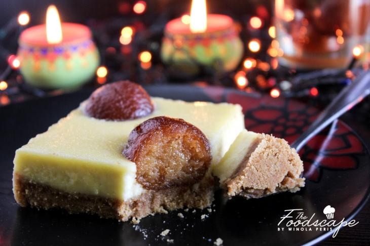 Gulab Jamun Cheesecake The Foodscape