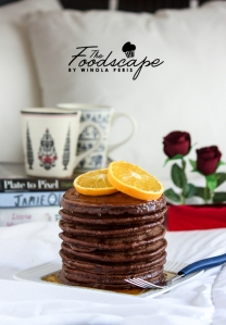 Orange Chocolate Pancakes