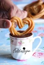 Baked Churro Hearts