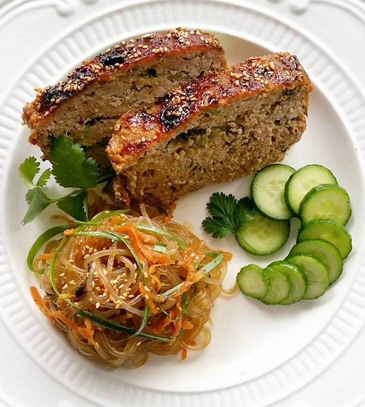 Bulgogi Pork Meatloaf