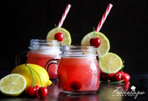 Sugar-free Cherry Cooler