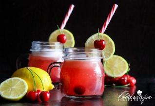 Sugar-free Cherry Cooler