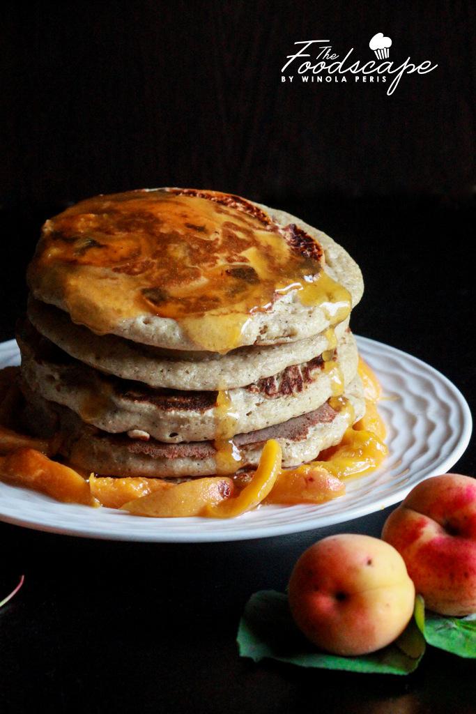 Fluffy Oatmeal Pancakes