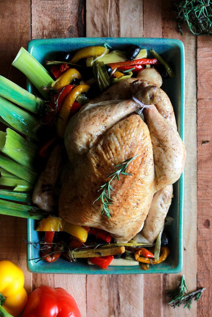 Monday Muse: Italian Roast Chicken