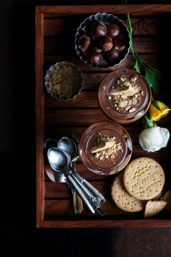 Monday Muse: Chestnut Chocolate Pots