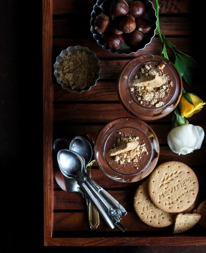 Monday Muse: Chestnut Chocolate Pots