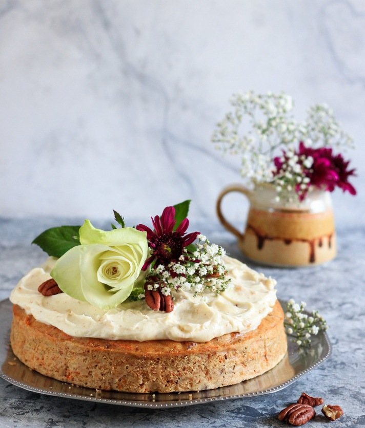 Carrot Cake with Brown Butter Cream Cheese Frostin