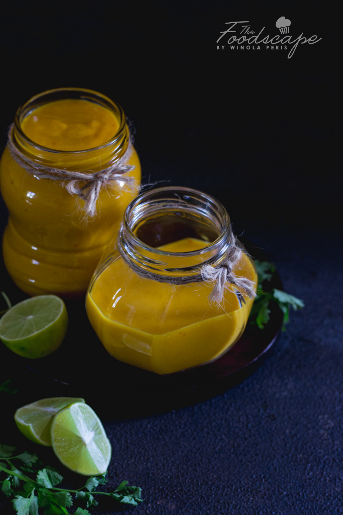 Easy Homemade Mango Chilli Lime Sauce Recipe. Hot & Sweet mango sauce made from scratch. Condiment Recipe. Mango Recipes. Mango Sauce Recipe. A mango sauce that can be a mango marinade, mango dipping sauce, mango mayo dip, Thai mango sauce, Mango Salad Dressing. Perfect natural, organic, homemade Mango Chilli Lime Sauce