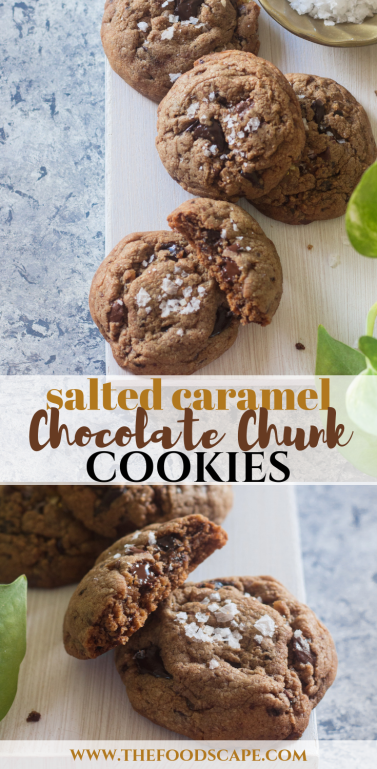 Brown Butter Salted Caramel Chocolate Chunk Cookies Recipe. Chocolate Chunk Cookies Recipe. Chocolate Chip Cookies Recipe. Salted Caramel Cookie Recipe. Salted Caramel Recipe. Christmas Cookies Recipe. Salted Chocolate Cookie Recipe. Food Photography. Food Recipes. Chocolate Recipe. Cookies. #foodphotography #food #recipe #cookie #chocolatechipcookie #saltedcaramel #brownbutter #christmascookies #christmascandy #christmas #dessert #dessertrecipes #holidayrecipes