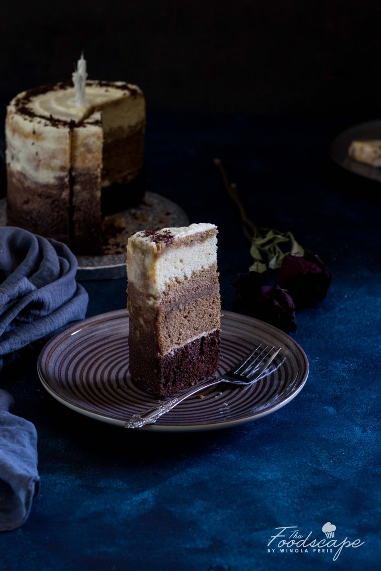 Tiramisu Cake Recipe with Mascarpone Frosting Recipe. Tiramisu Ombre Cake Recipe. Rustic Ombre Cake Recipe. Dark Food Photography. Moody Food Photography. Food Photography. Tiramisu Cake Recipe. Chocolate Cake Recipe. Coffee Cake Recipe. Vanilla Cake Recipe. #cake #foodphotography #tiramisu #coffee #chocolate #vanilla #ombre #recipe #dessert #dessertrecipes #food