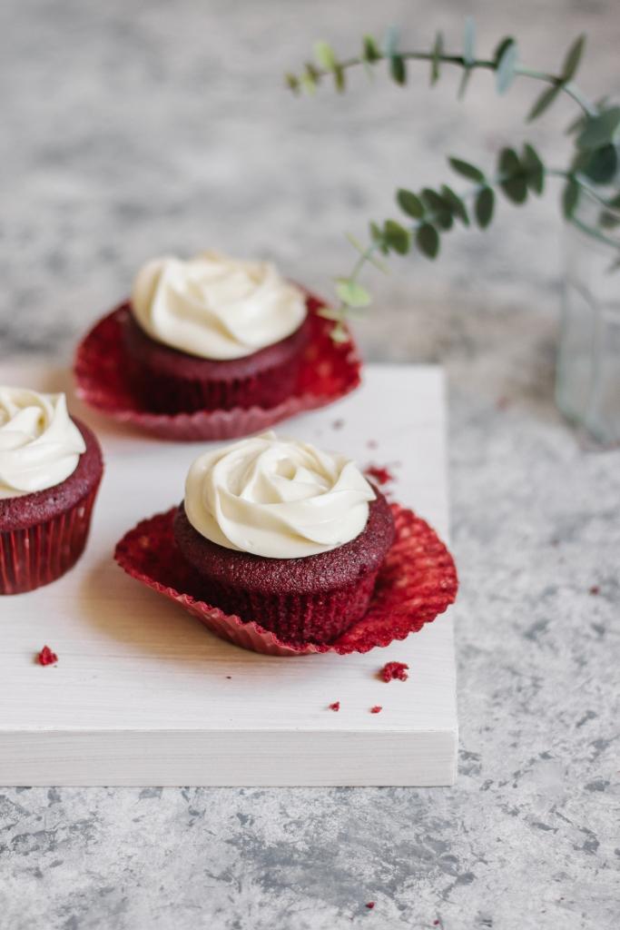 Red Velvet Cupcakes, Food Photography, Baking, Cupcake Recipe, Cake, Dessert